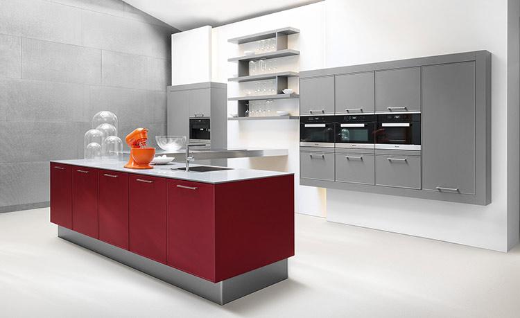 Cuisine design agencement et lectrom nager haut de gamme cuisines rognon besan on for Cuisines design haut de gamme